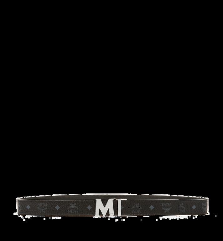 MCM เข็มขัดใส่ได้สองด้าน Claus M ขนาด 1.5 นิ้ว ลาย Visetos Black MXB6AVI02BK001 Alternate View 3