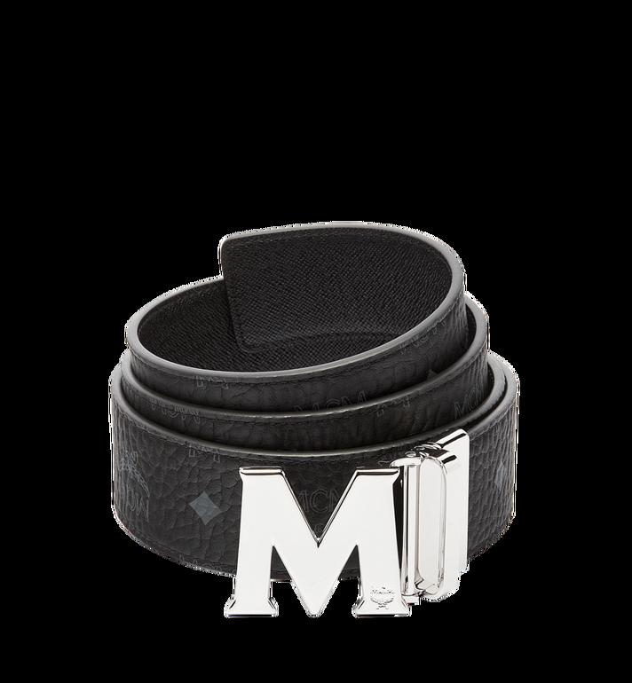 MCM Claus M Reversible Belt 4.5 cm in Visetos Alternate View