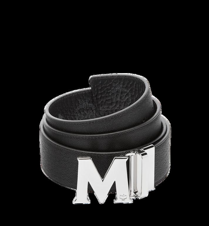 MCM Ceinture amovible Claus M 4,5cm en Visetos Black MXB6AVI03BK001 Alternate View 2