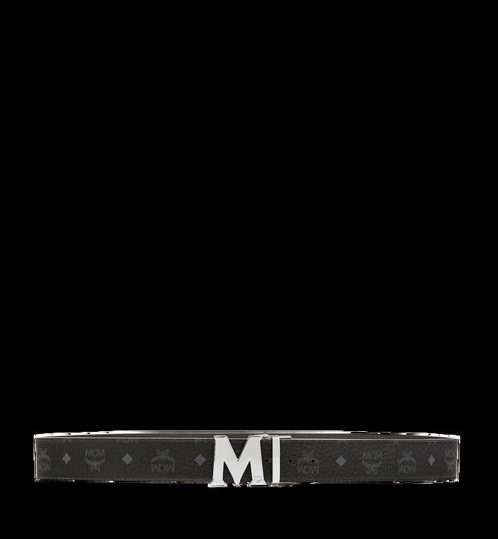 MCM Claus M Reversible Belt 4.5 cm in Visetos Black MXB6AVI03BK001 Alternate View 3