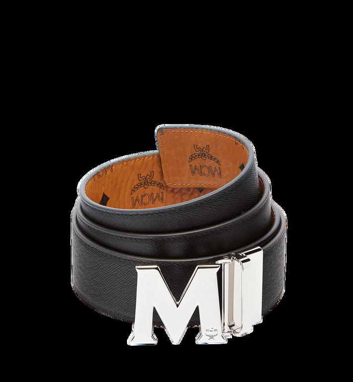 "MCM Claus M Reversible Belt 1.75"" in Visetos Cognac MXB6AVI03CO001 Alternate View 2"