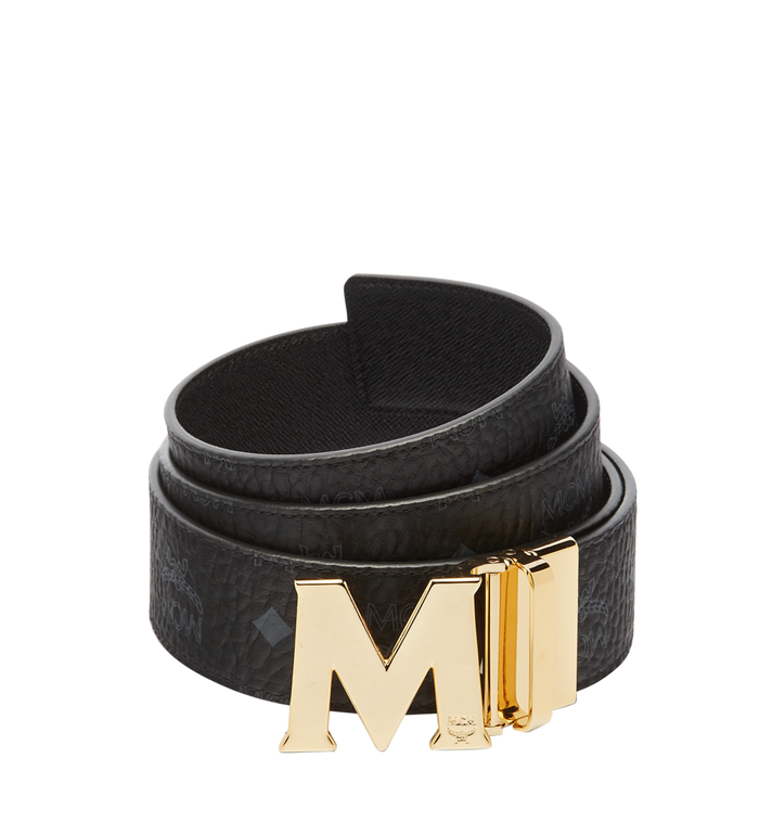 MCM Claus Reversible Belt 4.5 cm in Visetos Alternate View