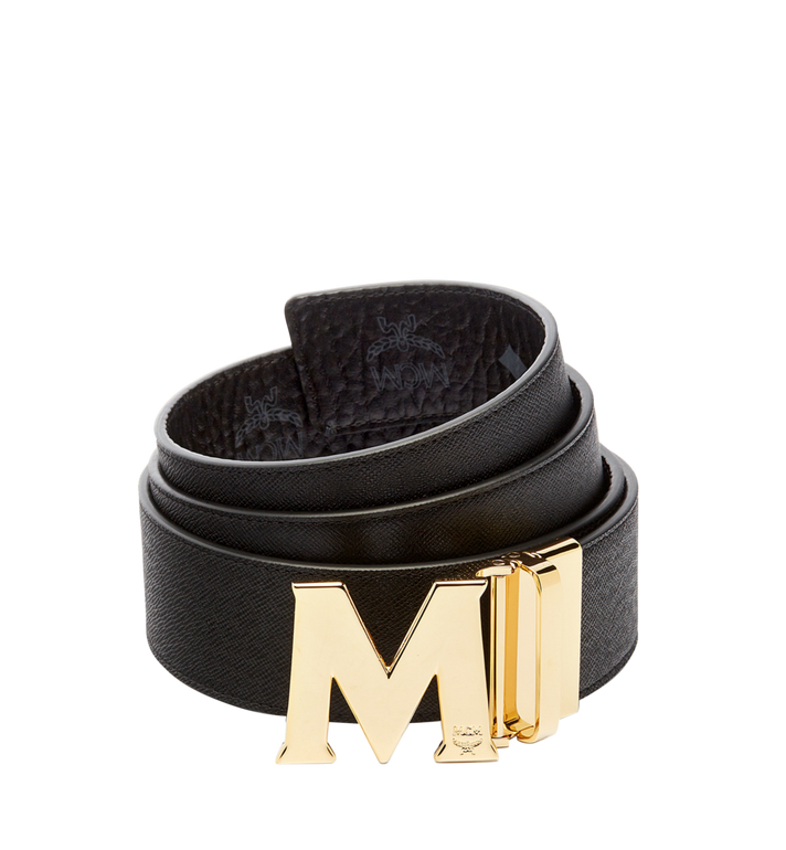 MCM Ceinture amovible Claus M 4,5 cm en Visetos Black MXB6AVI04BK001 Alternate View 2