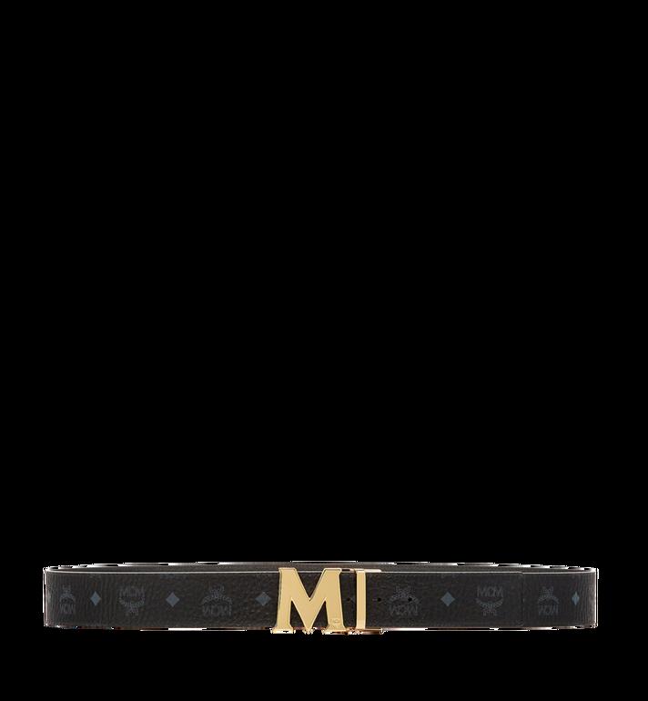 MCM Claus Reversible Belt 4.5 cm in Visetos Black MXB6AVI04BK001 Alternate View 3