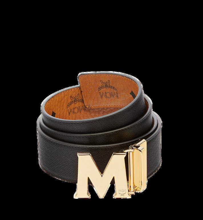 MCM Claus M Reversible Belt 4.5 cm in Visetos Cognac MXB6AVI04CO001 Alternate View 2