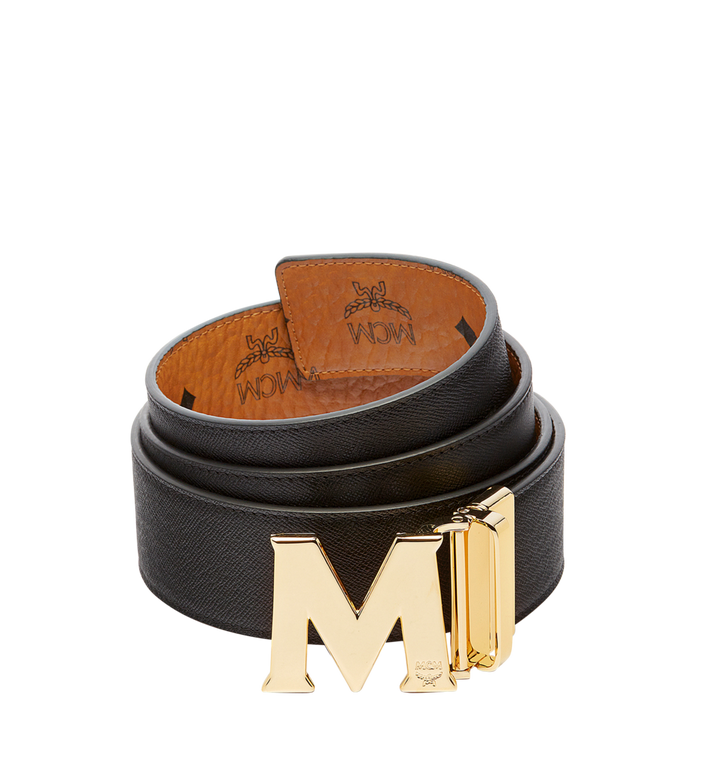 "MCM Claus M Reversible Belt 1.75"" in Visetos Cognac MXB6AVI04CO001 Alternate View 2"