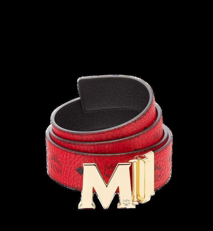MCM เข็มขัดใส่ได้สองด้าน Claus M ขนาด 1.75 นิ้ว ลาย Visetos Alternate View