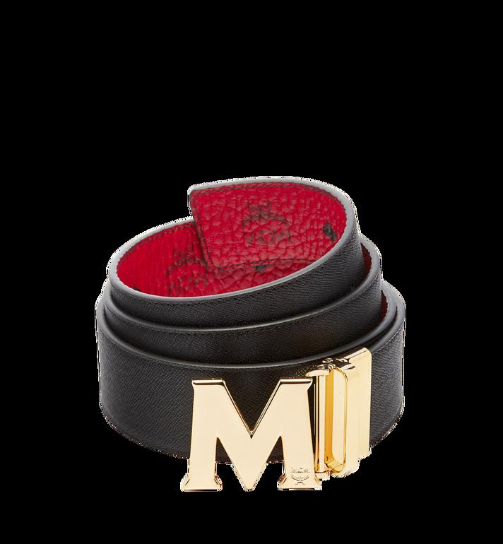 MCM เข็มขัดใส่ได้สองด้าน Claus M ขนาด 1.75 นิ้ว ลาย Visetos Red MXB6AVI04RU001 Alternate View 2