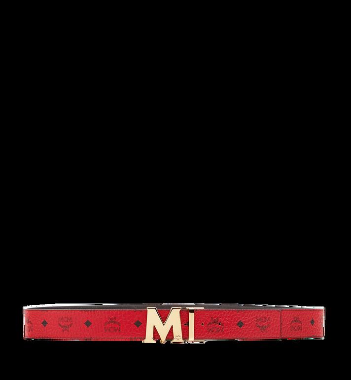 MCM เข็มขัดใส่ได้สองด้าน Claus M ขนาด 1.75 นิ้ว ลาย Visetos Red MXB6AVI04RU001 Alternate View 3