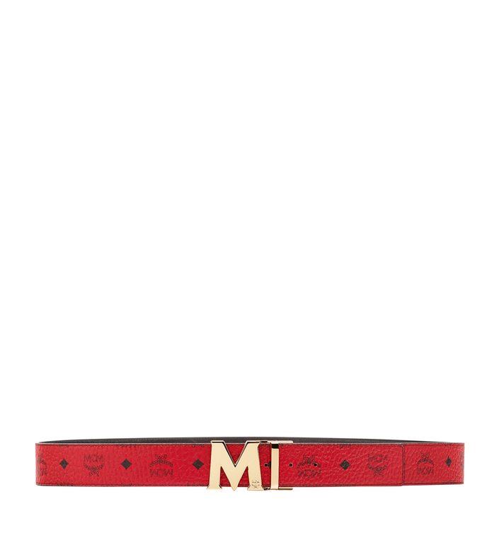 MCM Ceinture amovible Claus M 4,45 cm en Visetos Alternate View 3