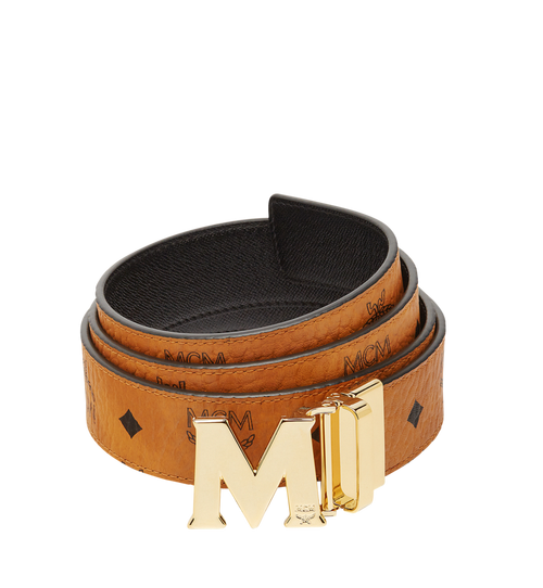 Claus M Reversible Belt 3.8 cm in Visetos