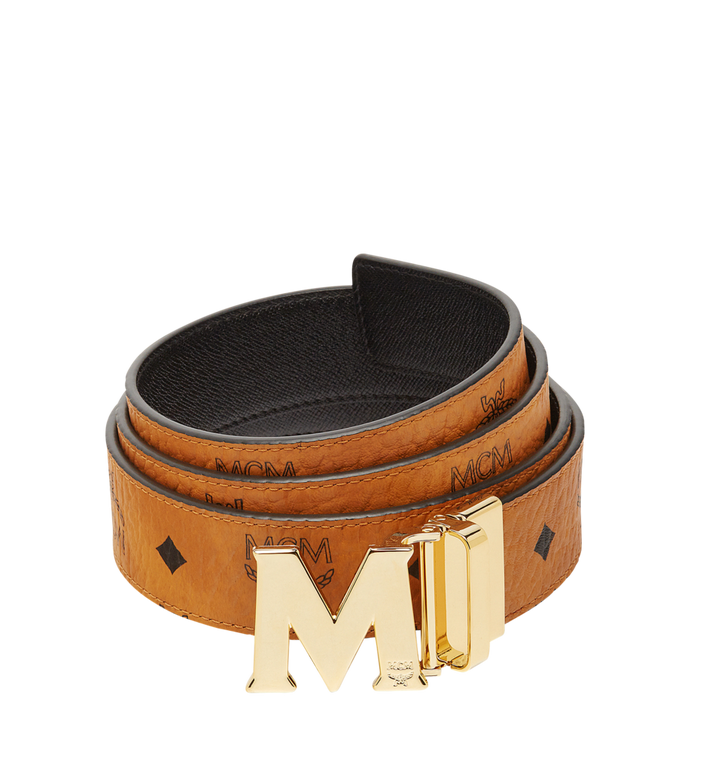 MCM Ceinture amovible Claus M 3,80 cm en Visetos Alternate View