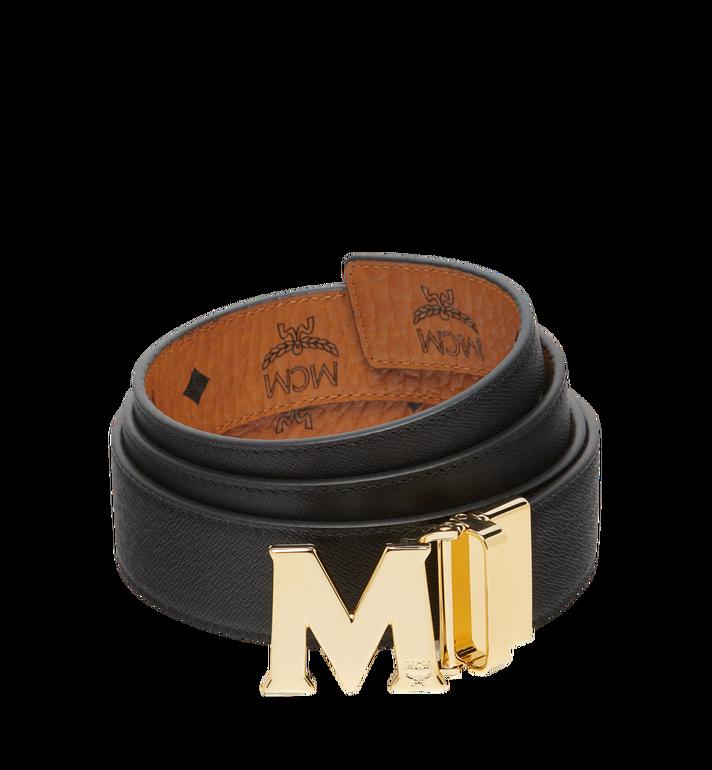 MCM เข็มขัดใส่ได้สองด้าน Claus M ขนาด 1.5 นิ้วลาย Visetos Cognac MXB7AVI05CO001 Alternate View 2