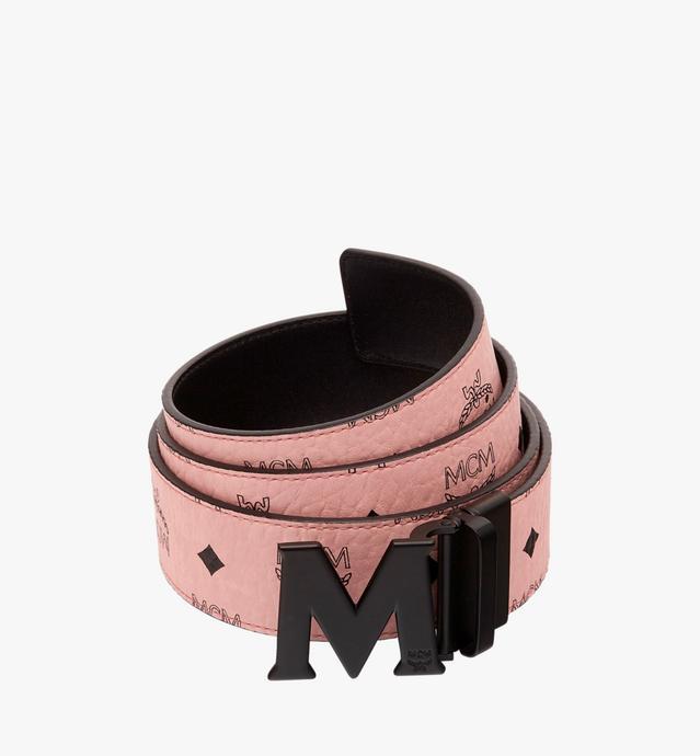 "Claus Black M Reversible Belt 1.75"" in Visetos"
