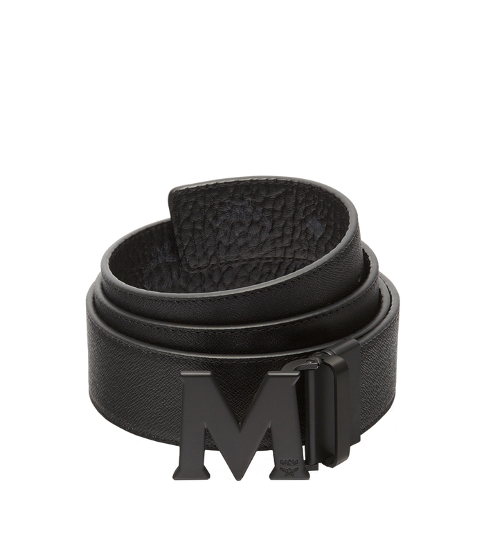 MCM Ceinture amovible Claus M 4,5cm en Visetos Black MXB7SVI10BK001 Alternate View 2