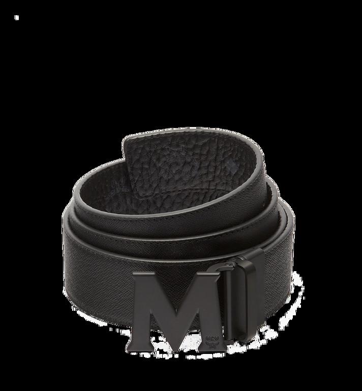 "MCM Claus M Reversible Belt 1.75"" in Visetos Black MXB7SVI10BK001 Alternate View 2"