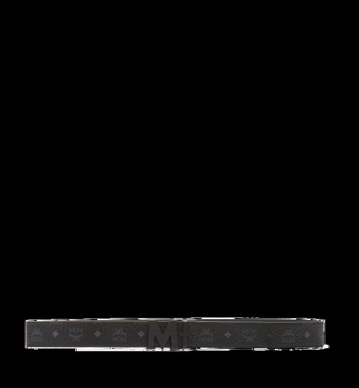 MCM Ceinture amovible Claus M 4,5cm en Visetos Black MXB7SVI10BK001 Alternate View 3