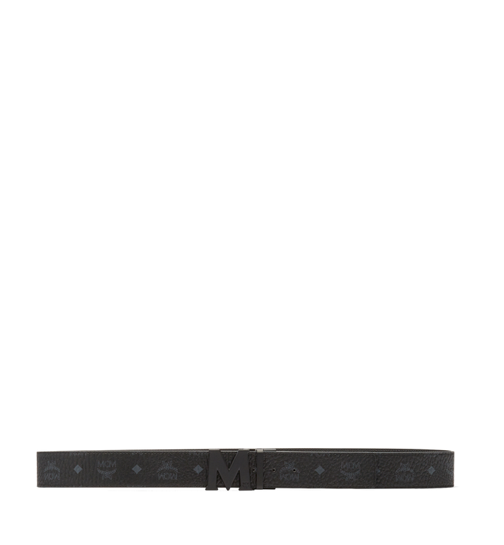 MCM Visetos 系列的 Claus M 1.75 吋可翻轉皮帶 Black MXB7SVI10BK001 Alternate View 3
