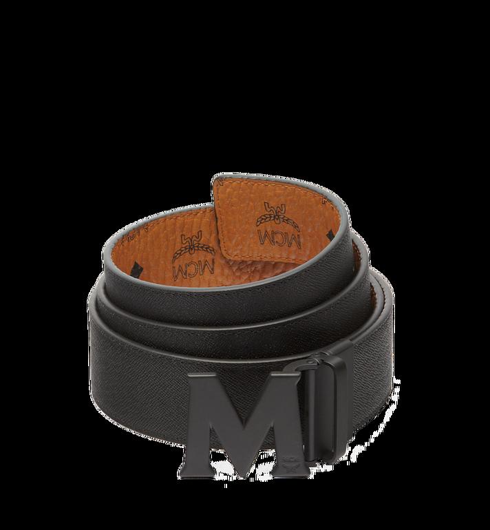 MCM Visetos 系列的 Claus M 1.75 吋可翻轉皮帶 Cognac MXB7SVI10CO001 Alternate View 2