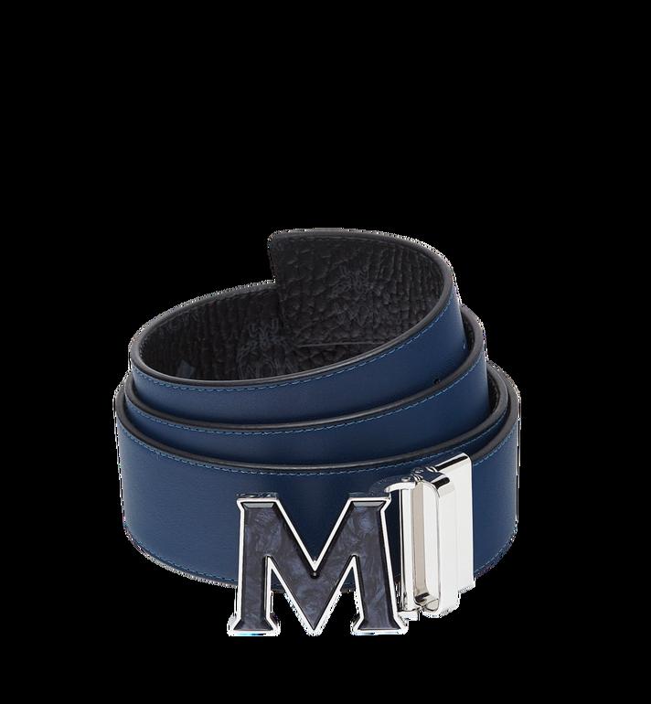 "MCM Claus Marble M Reversible Belt 1.75"" in Visetos  MXB8AVI26BK001 Alternate View 2"