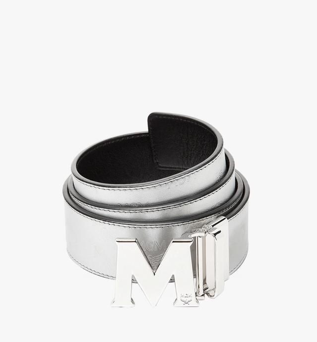 "Claus M Reversible Belt 1.75"" in Monogram Leather"