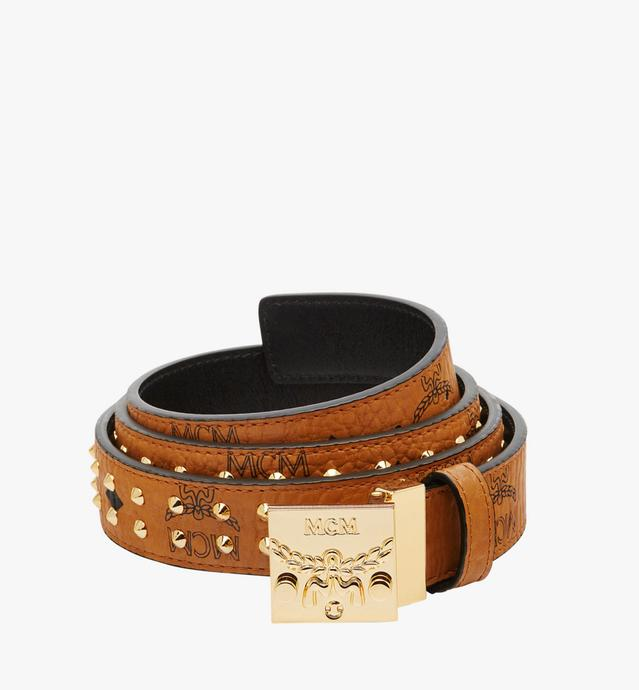 "Patricia Studded Belt 1.2"" in Visetos"