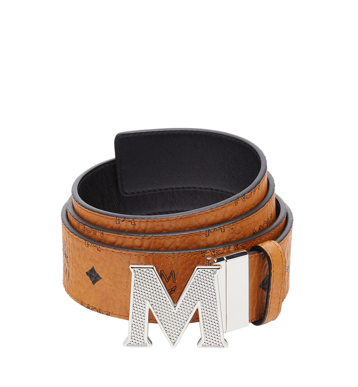 MCM Ceinture amovible Claus M 4,45 cm en Visetos Alternate View 1