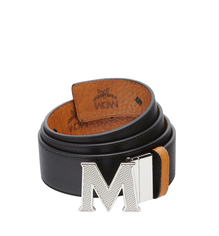 MCM Ceinture amovible Claus M 4,45 cm en Visetos Alternate View 2