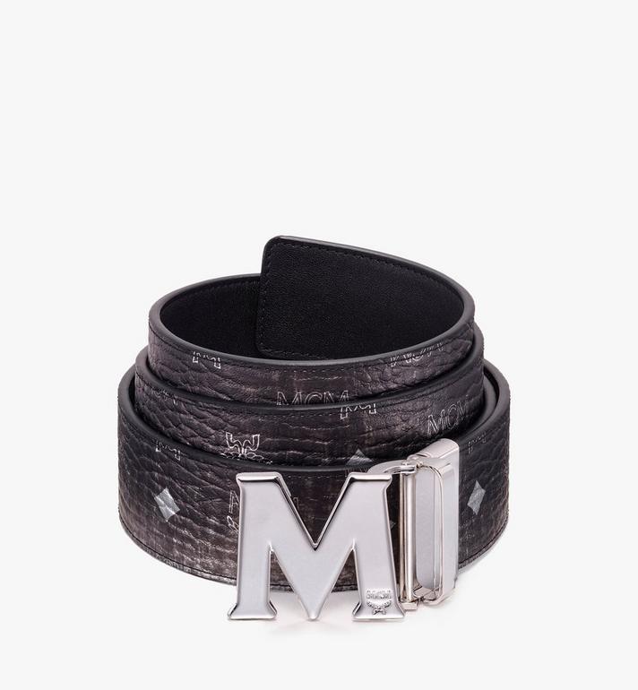 MCM Claus Flat M Reversible Belt in Visetos Alternate View