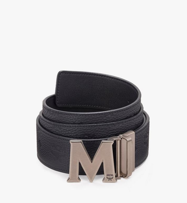 MCM Claus Antique M Reversible Belt Black MXB9AVI16BK001 Alternate View 1