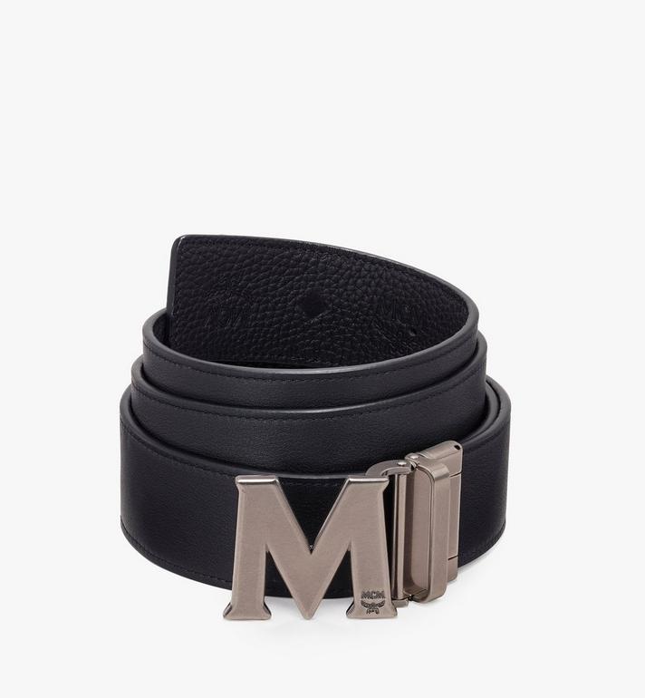 MCM Claus Antique M Reversible Belt Black MXB9AVI16BK001 Alternate View 2