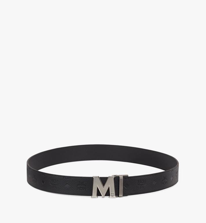 MCM Claus Antique M Reversible Belt Black MXB9AVI16BK001 Alternate View 3
