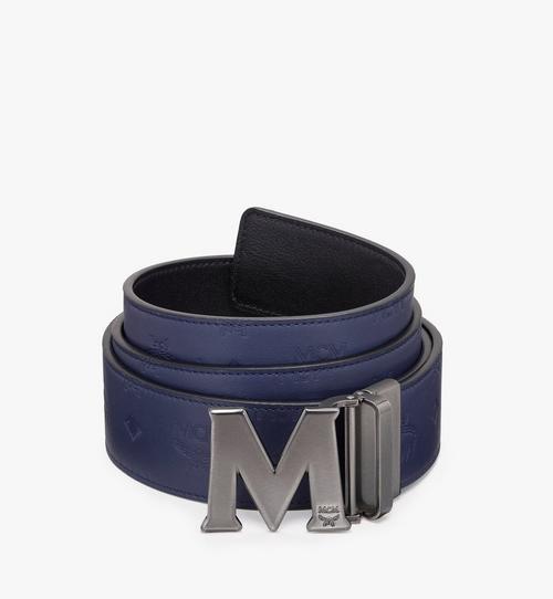 Claus古董「M」型可翻轉使用皮帶