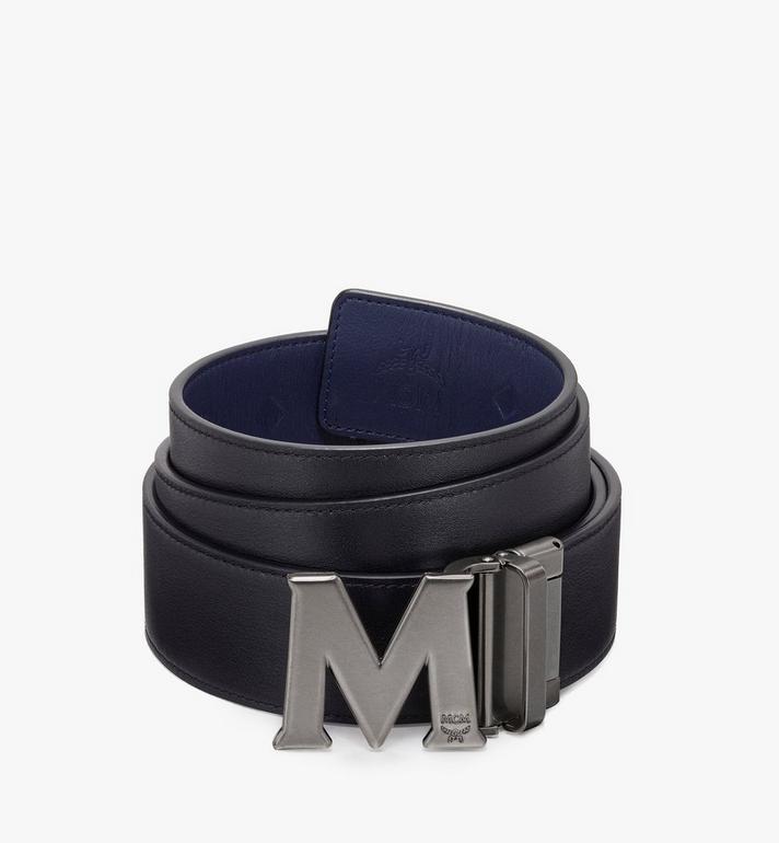 MCM Claus古董「M」型可翻轉使用皮帶 Navy MXB9AVI16VA001 Alternate View 2