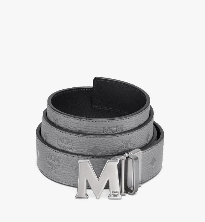 "MCM Claus M Reversible Belt 1.5"" in Monogram Leather Alternate View"