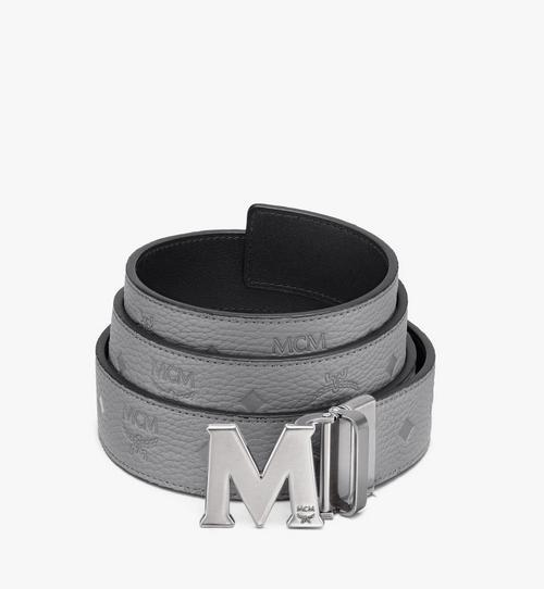 Monogram Leather 系列的 Claus M 1.5 吋可翻轉皮帶