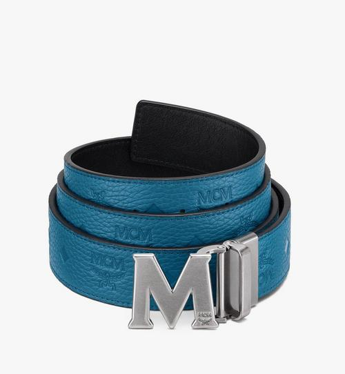 "Claus M Reversible Belt 1.5"" in Monogram Leather"