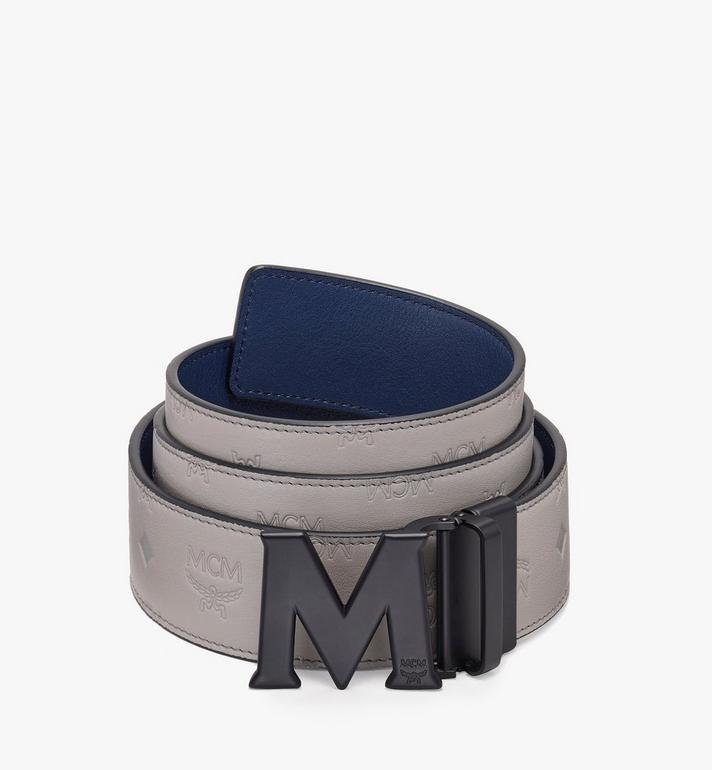 MCM Claus Flat M Reversible Belt Grey MXB9AVI24EC001 Alternate View 1