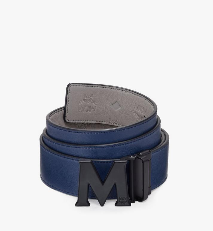 MCM Claus Flat M Reversible Belt Grey MXB9AVI24EC001 Alternate View 2
