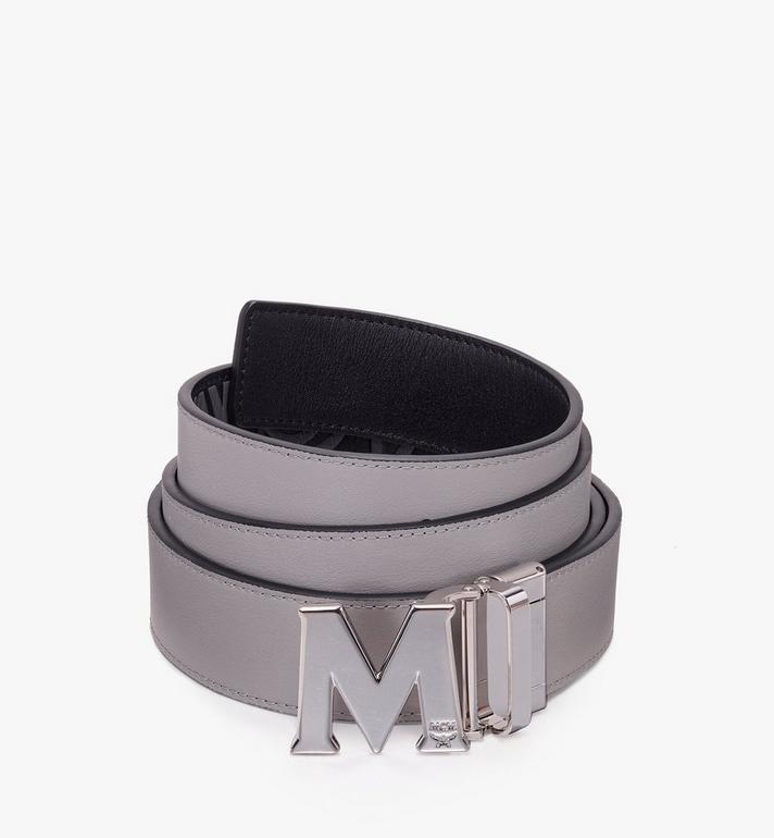 MCM Claus Flat M Reversible Belt in Visetos Black MXB9AVI46BK001 Alternate View 2