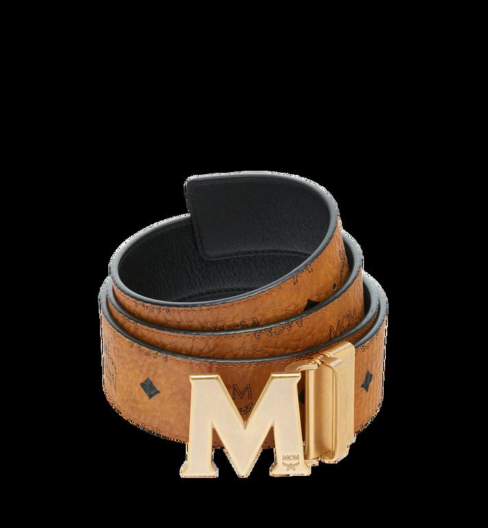 MCM Antique M Reversible Belt 4.5 cm in Visetos Alternate View