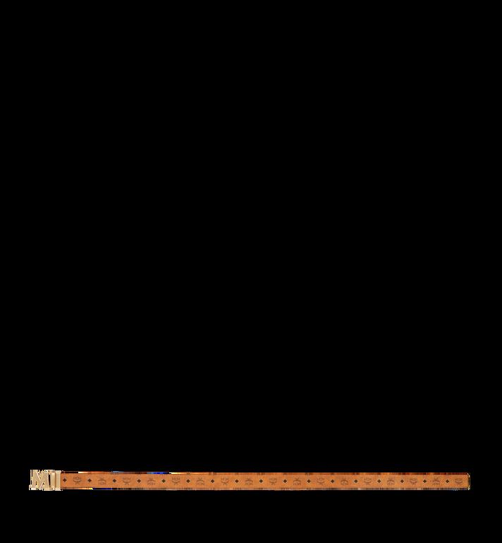 MCM Antique M Reversible Belt 4.5 cm in Visetos Cognac MXB9SVI11CO001 Alternate View 3