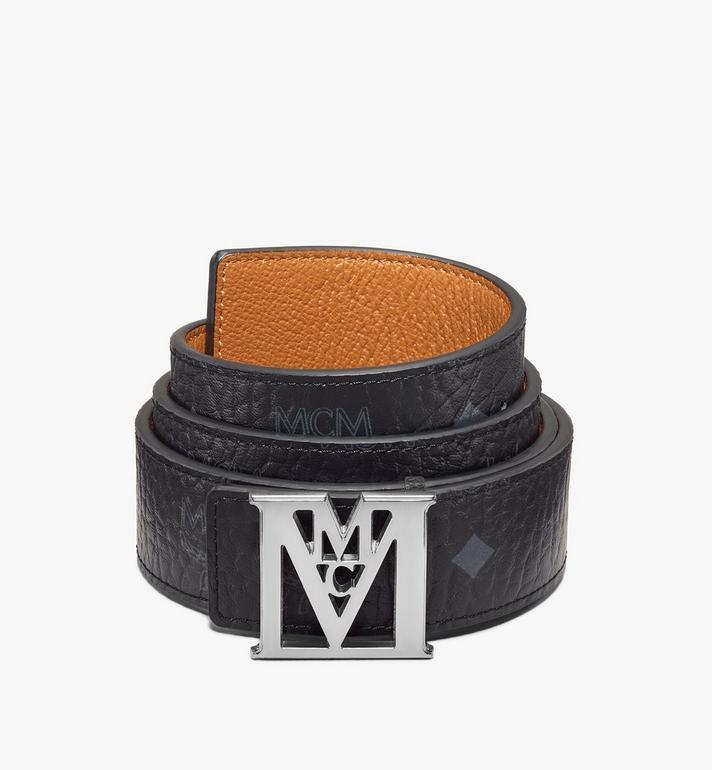 "MCM Mena M Reversible Belt 1.5"" in Visetos Alternate View"