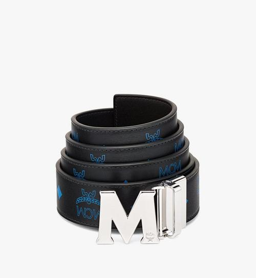 """Claus M Reversible Belt 1.5"""" in Embossed Leather"""