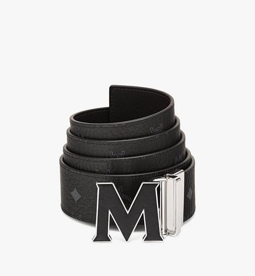"Claus Leather Inlay M Reversible Belt 1.75"" in Visetos"