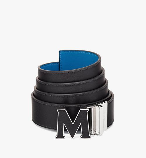 """Claus Leather Inlay M Reversible Belt 1.5"""" in Embossed Leather"""