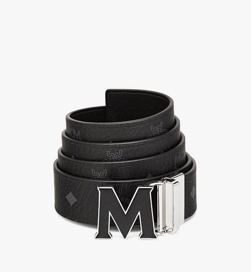 "Claus Leather Inlay M Reversible Belt 1.5"" in Visetos"