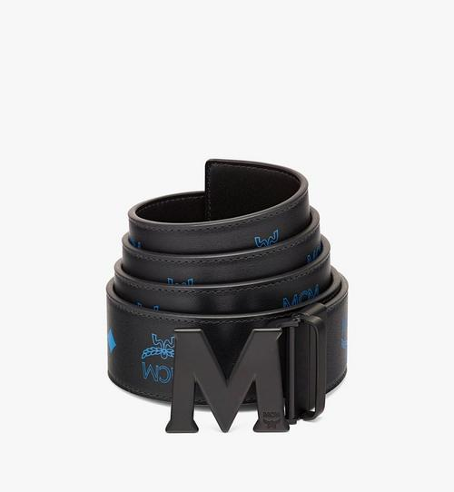 """Claus Matte M Reversible Belt 1.75"""" in Embossed Leather"""