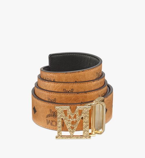 Visetos 系列 Mena 織紋 M 1.5 吋雙面皮帶