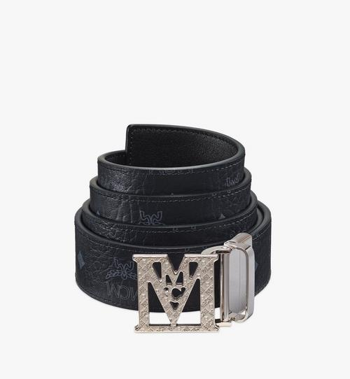 "Mena Textured M Reversible Belt 1.5"" in Visetos"